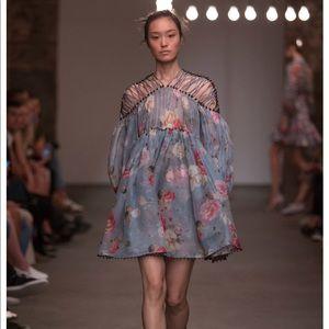 NWT Zimmermann organza dress